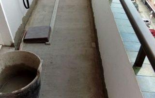 Terraza capa compresora